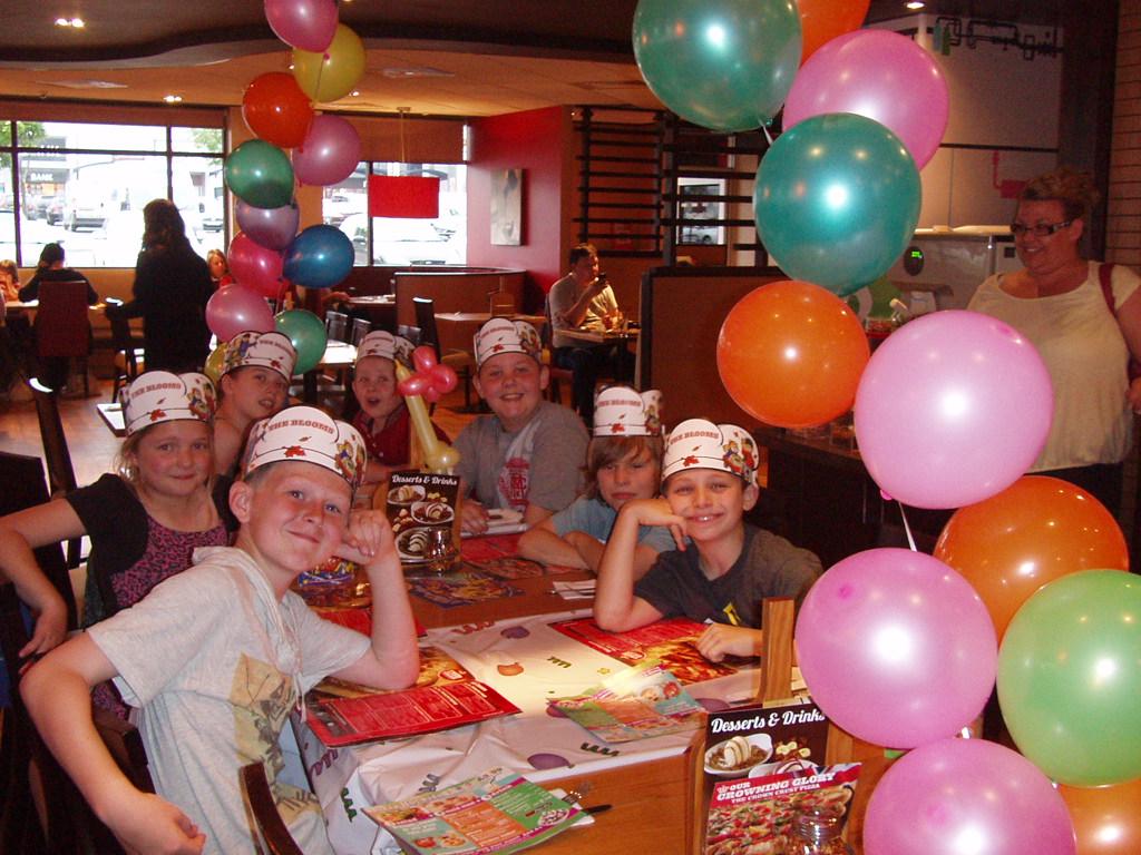 Fun at Pizza Hut